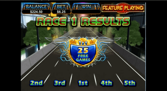 Dream Run, a racer's video slot paradise