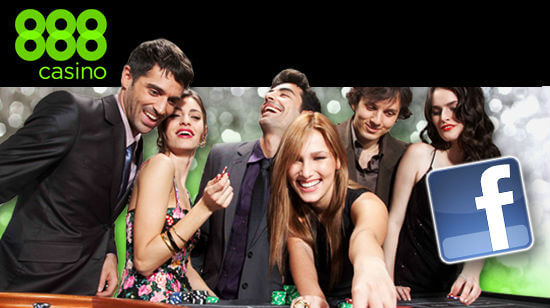 888 Casino offers Real Money games on Facebook