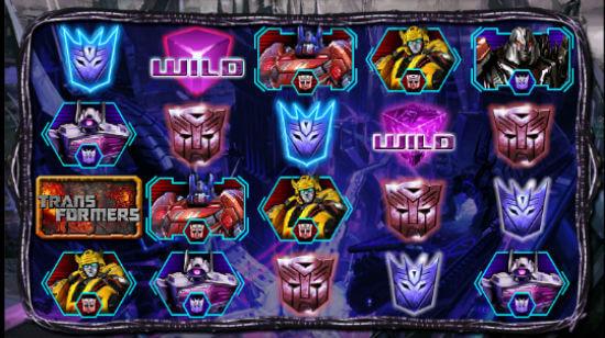 transformers battle for cybertron slot