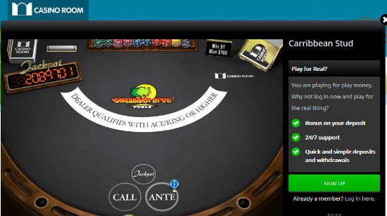Tired of Slots? Play one of the 31 Versions of Poker at CasinoRoom