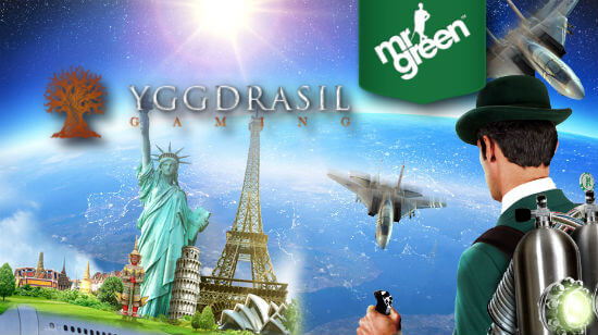 Nordic Ambition: Mr Green Signs Yggdrasil, 25 New Games to Come
