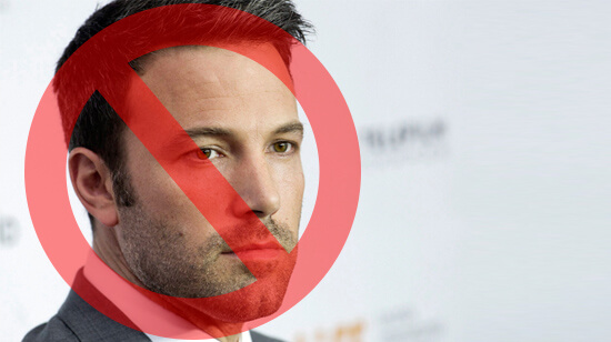 Ben Affleck Caught Counting Cards, Banned from Blackjack for Life
