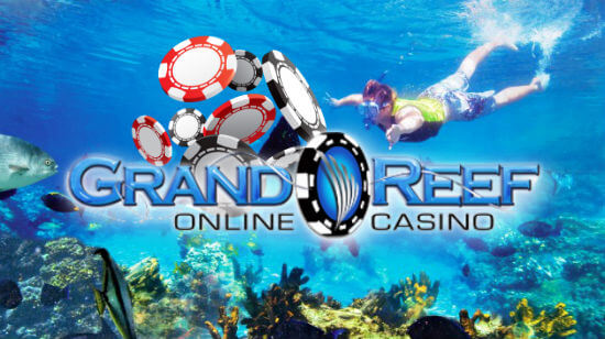Get up to $5,000 Extra on your First 5 Deposits at Grand Reef Casino!