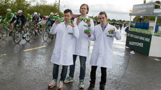 Paddy Power Clean Up Cycling's Image with another PR Stunt