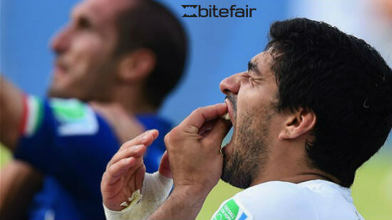 Betfair Rebrands as Bitefair in Support of Suarez Ban