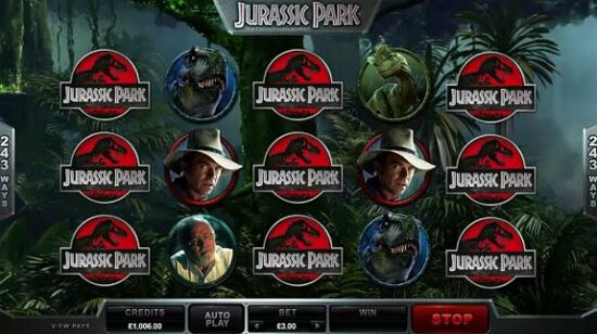 Jurassic Park Video Slot Launches