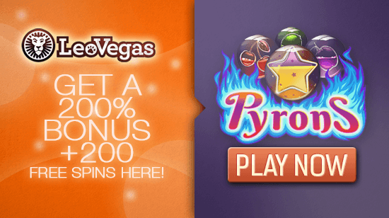 New Games and Great Bonuses Now Available at LeoVegas!