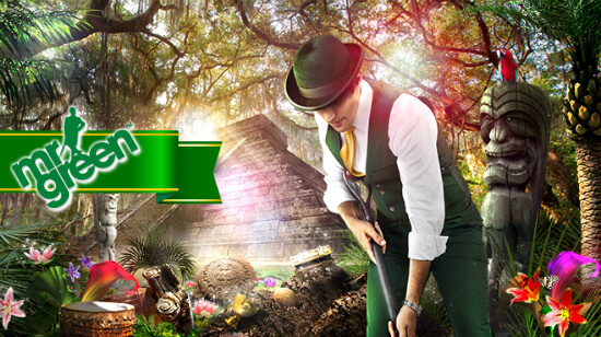 Autumn's about to heat up with a 300% Bonus and Free Spins for Grabs at Mr Green