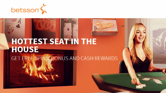 Win  250 Bonus Money and Free Spins Playing BlackJack at Betsson!
