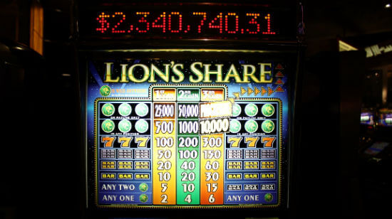 Legendary Lion's Share Slot Machine Finally Pays Out $2.4 million