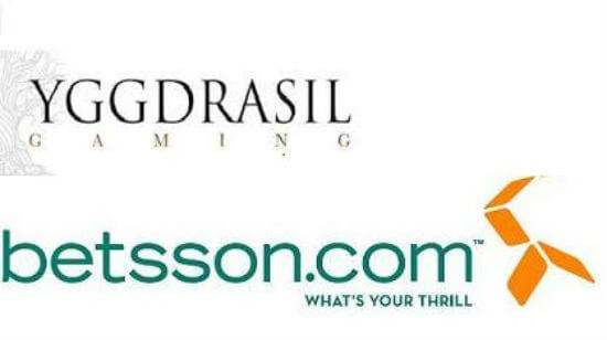 Yggdrasil Games Ink a Deal with Betsson