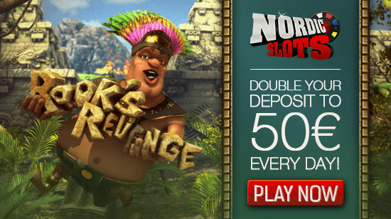 Get a 100% Reload Bonus Every Day at NordicSlots