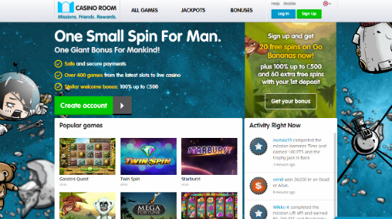 Revamping Casino Room: New Design, More Bonuses & New Games