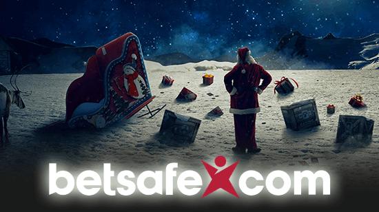 Santa's Drunk — So Betsafe Saves Christmas!