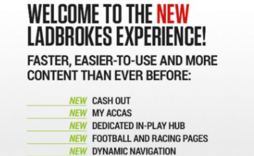 Ladbrokes Merges Online and Offline Bet Placing and Cash Out