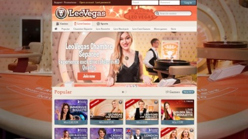 LeoVegas Launches Branded HD Quality Live Casino